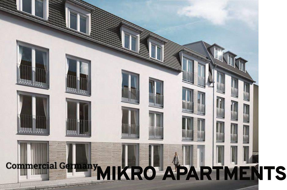 Apartment building in Nuremberg, photo #1, listing #79333800